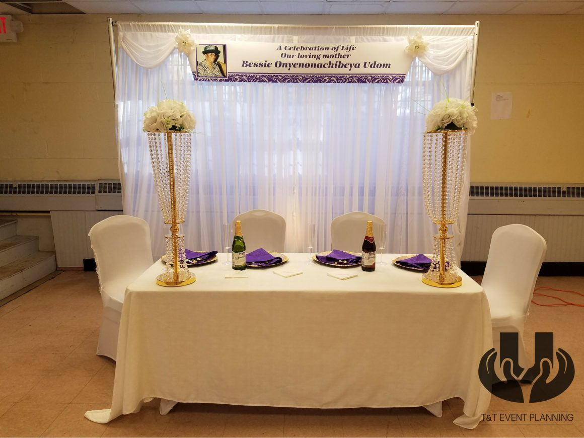 Reception for Funeral