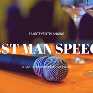 Best man's Speech Hack. How to Own Your Stage in 5 minutes